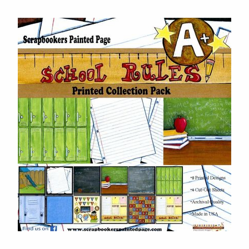 School Rule Printed Paper Collection