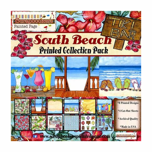 South Beach Printed Paper Collection