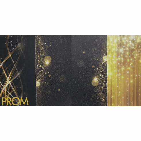 Stitched Prom Gold