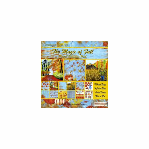 The Magic of Fall Printed Paper Collection