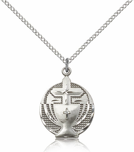 First Holy Communion Medal Pendants and Necklaces