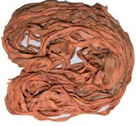 10 Yards Sari SILK Ribbon Apricot