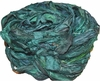 10 Yards Sari SILK Ribbon Aqua Shade