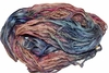 10 Yards Sari SILK Ribbon Blue Pink Garden