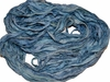 10 Yards Sari SILK Ribbon Blue Sky