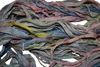 10 Yards Sari SILK Ribbon Candy