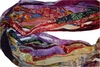 10 Yards Sari SILK Ribbon Chiffon Blend PrintShade