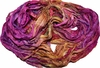 10 Yards Sari SILK Ribbon Hot Pink