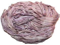 10 Yards Sari SILK Ribbon Lilac Pink
