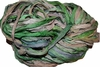 10 Yards Sari SILK Ribbon Lime Cream