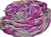 10 Yards Sari SILK Ribbon Mulberry Silver