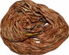 10 Yards Sari SILK Ribbon Orange Brick