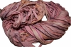 10 Yards Sari SILK Ribbon Pastel Pink