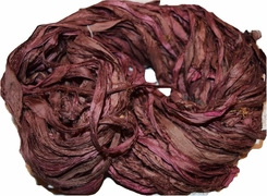 10 Yards Sari SILK Ribbon Pecan