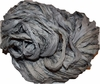 10 Yards Sari SILK Ribbon Silver