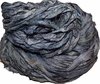 10 Yards Sari SILK Ribbon Silver Bluish