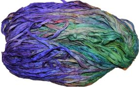 10 Yards Sari SILK Ribbon Snowcones