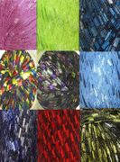 135 yrds 9 colors Ladder Trellis Yarn for 9 necklaces mix lot 10