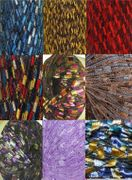 135 yrds 9 colors Ladder Trellis Yarn for 9 necklaces mix lot 2