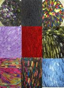 135 yrds 9 colors Ladder Trellis Yarn for 9 necklaces mix lot 6