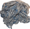 100g Banana Silk Yarn Blue White