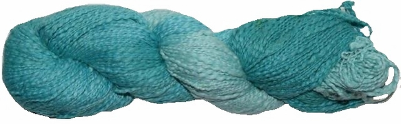100g Hand Dyed 100% Cotton Yarn Teal