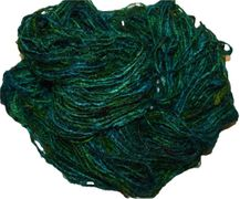 100g Himalayan SILK Yarn Green 2