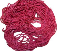 100g Braided SILK Ribbon Yarn Hot Pink