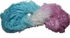 100g Fuzzy Cotton Linen Yarn Aqua Pink