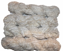 100g Fuzzy Cotton Linen Yarn  Perle
