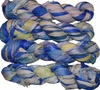 100g Sari SILK Ribbon Art Yarn Blue Lavender