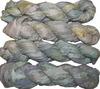 100g Sari SILK Ribbon Art Yarn Celeste Velato