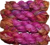 100g Sari SILK Ribbon Art Yarn Hot Pink