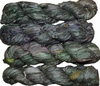100g Sari SILK Ribbon Art Yarn Hunter Green