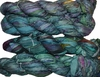 100g Sari SILK Ribbon Art Yarn Jungle Green