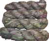 100g Sari SILK Ribbon Art Yarn Juniper