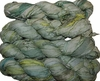 100g Sari SILK Ribbon Art Yarn Laurel Green