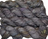 100g Sari SILK Ribbon Art Yarn Lavender Silver