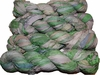 100g Sari SILK Ribbon Art Yarn Lime Cream