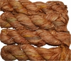 100g Sari SILK Ribbon Art Yarn Orange Brick