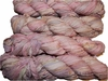 100g Sari SILK Ribbon Art Yarn Pastel Pink