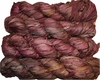 100g Sari SILK Ribbon Art Yarn Pecan
