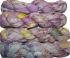 100g Sari SILK Ribbon Art Yarn Pink Cream