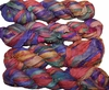 100g Sari SILK Ribbon Art Yarn Summer Fire