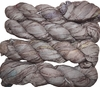 100g Sari SILK Ribbon Art Yarn Taupe