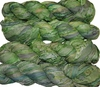 100g Sari SILK Ribbon Art Yarn Tea Green