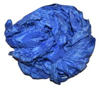 100g Sari SILK Ribbon Yarn Ultramarine
