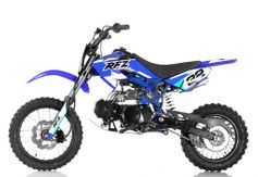 Apollo / Orion Deluxe 110cc Dirt / Pit Bike -  27.5 inch  Seat Height - 4-Speed Semi Automatic Transmission Inverted Forks
