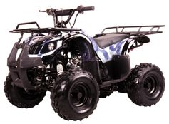 Kymoto Kids Size Deluxe Sport-Utility 110 ATV - Automatic - Full Suspension - ATV T040