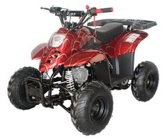 JET MOTO LYNX 110 ATV - New for 2020. Upgraded fuel system, shocks and brakes